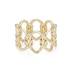 Kendra Scott Fallyn Ring Gold 6